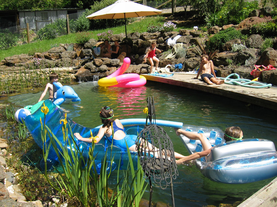 Why we do it naturally for Natural swimming pool australia